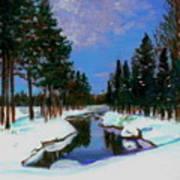 Lapland Art Print