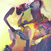 Larakaraka Dance Art Print