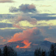 Wyoming Sunsets 1 Art Print