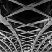 Large Girder Bridge Art Print