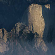 Large Granite Mountains In California Art Print