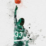Larry Bird Art Print