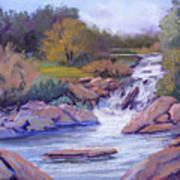 Larsen Falls Art Print