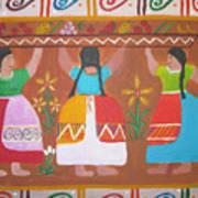Las Comadres Art Print by Sonia Flores Ruiz