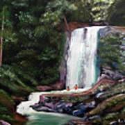 Las Marias Puerto Rico Waterfall Art Print