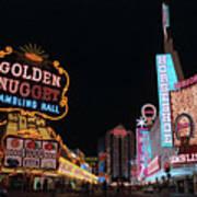 Las Vegas 1983 #6 Art Print