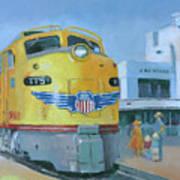 Las Vegas Dream Train Art Print