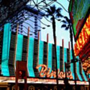 Las Vegas Lights II Art Print
