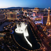 Las Vegas Lights Art Print