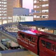 Las Vegas Monorail Art Print