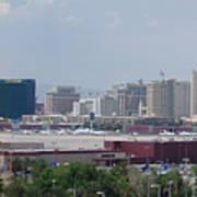 Las Vegas Pano Section 2 Of 3 Art Print