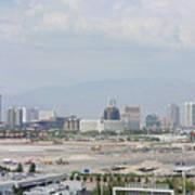 Las Vegas Pano Section 3 Of 3 Art Print
