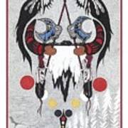 Last Buffalo Hunt Art Print