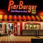 Last Burger On Land Art Print