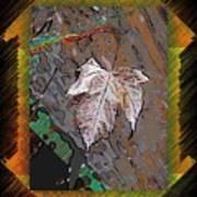 Last Leaf Standing Art Print
