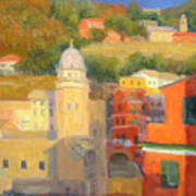Last Light - Vernazza Art Print