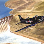 Last Of The Dambusters Art Print