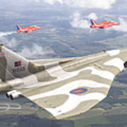 Last Royal Escort - Avro Vulcan Art Print