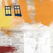 Last Train To Stockholm- Art By Linda Woods Art Print