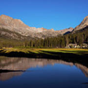 Late Afternoon At Mcclure Meadow Art Print