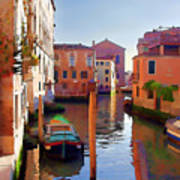 Late Afternoon In Venice Art Print