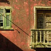 Late Afternoon Stroll Through Legnano Art Print