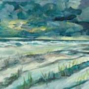 Late Evening Storm In Destin Art Print