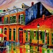 Late On Bourbon Street Art Print
