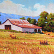 Late Summer Hay Art Print