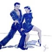 Latin Ballroom Art Print