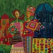 Latino In New York Art Print