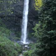 Latourelle Falls-columbia River Gorge Art Print
