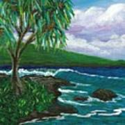 Lau Halas In Hilo Art Print