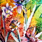 Laughing Flowers Art Print