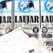 Laujar Fight Art Print