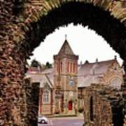 Launceston Castle South Gatehouse Art Print