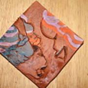 Laundrette - Tile Art Print