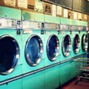 Laundromat Art Print by Vivienne Gucwa