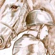 Laura's Horse Art Print