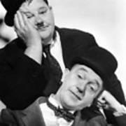 Laurel And Hardy, 1939 Art Print