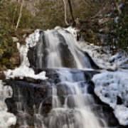 Laurel Falls In Gatlinburg Tennessee Art Print
