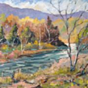 Laurentian Hills Art Print
