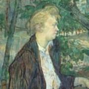 lautrec gabrielle 1891 Henri De Toulouse-Lautrec Art Print