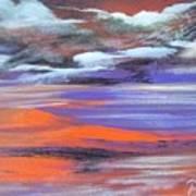 Lava Lagoon Art Print