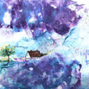 Lavendar Fields Art Print