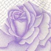 Lavender And Lace Art Print