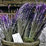 Lavender For Sale Art Print