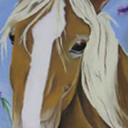 Lavender Horse Art Print