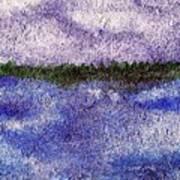 Lavender Land Art Print