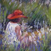Lavender Treasure Art Print